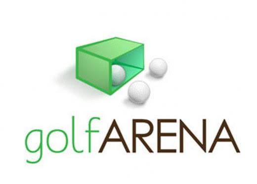 GolfArena Logo is a good golf logo design