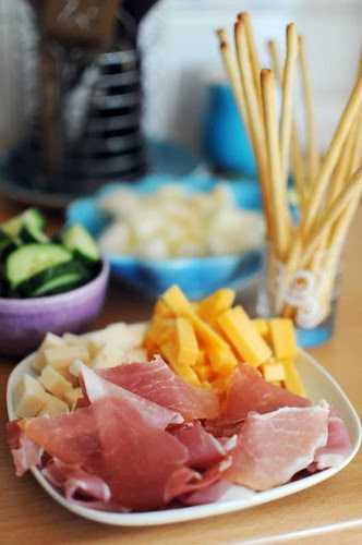 prosciutto-cheese