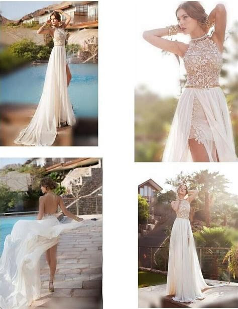 Discount Sale Bridal Dresses 2014 Sexy Beach Wedding