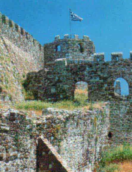 Το Γενοβέζικο κάστρο της Μυτιλήνης.