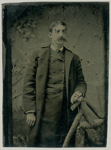Tintype Man with coat