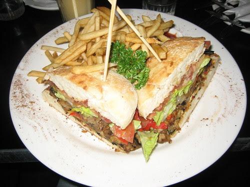 vegie moon burger