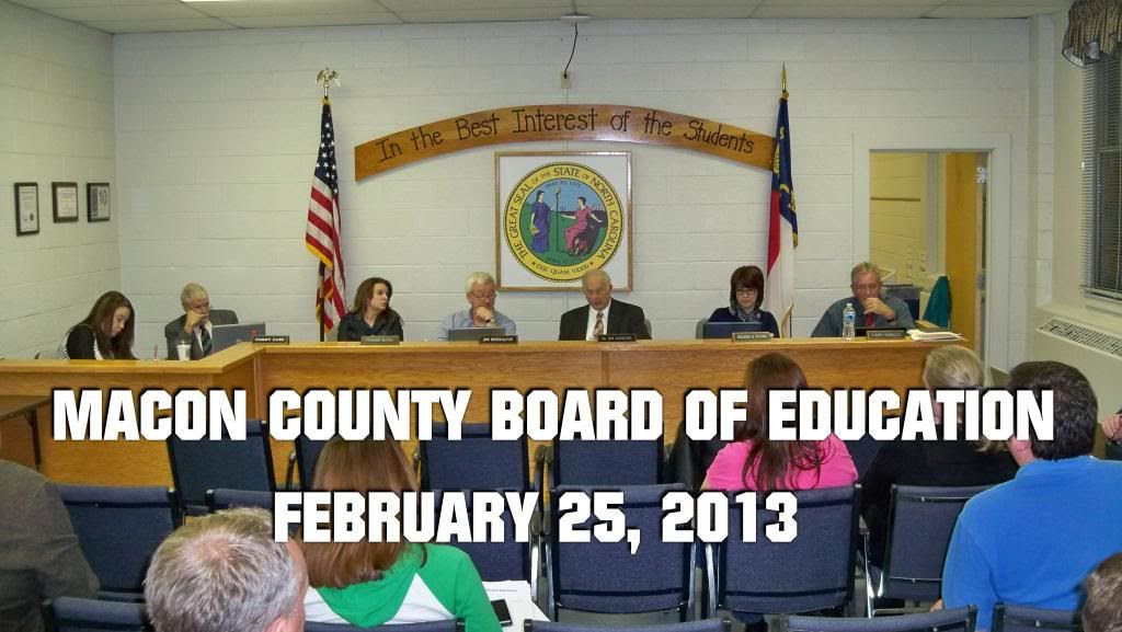 Macon County Board of Education  Photo by Bobby Coggins