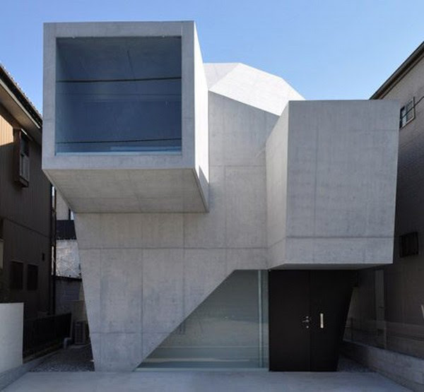Modern  Shape Architecture Japanese  Gallery House