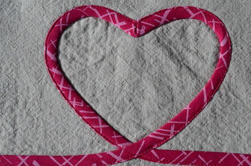 Cross my Heart by Poppyprint