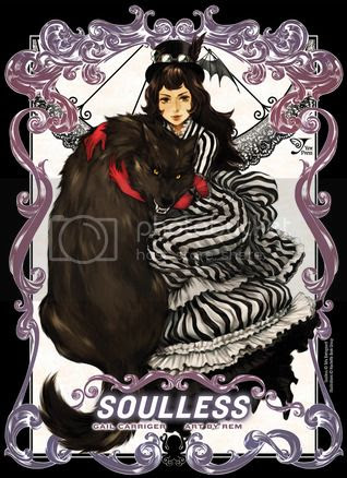 Soulless Manga Vol 1 Cover