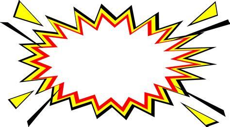 comic boom explosion vector png transparent svg vol