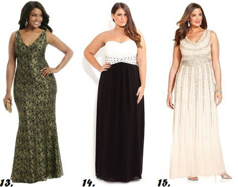 plus size black tie formal wedding guest dresses curvy