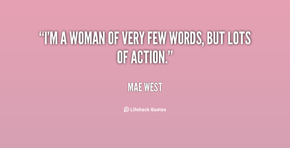 Quotes About Using Few Words 27 Quotes