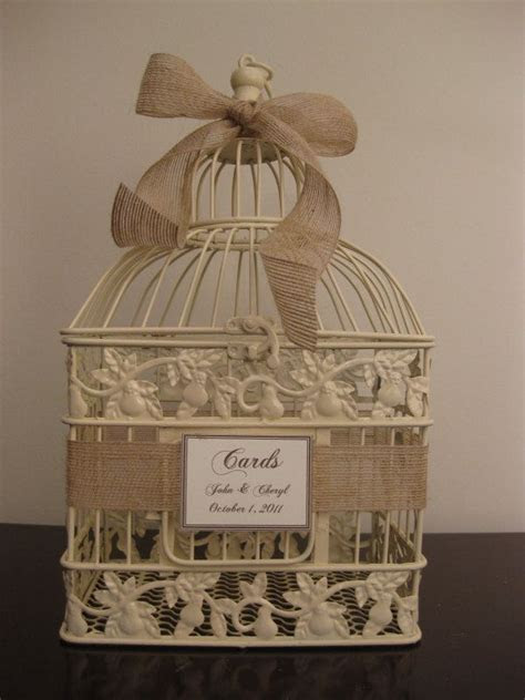 1000  ideas about Birdcage Card Holders on Pinterest