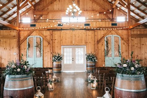 shadow creek weddings northern virginia barn wedding venue