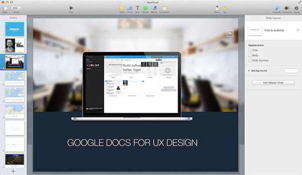 Keynote design now