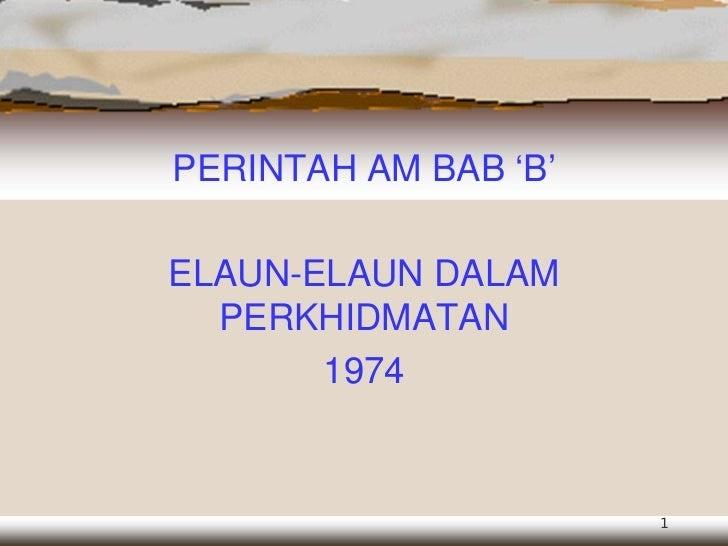 Soalan Perintah Am Bab B Viral Blog B