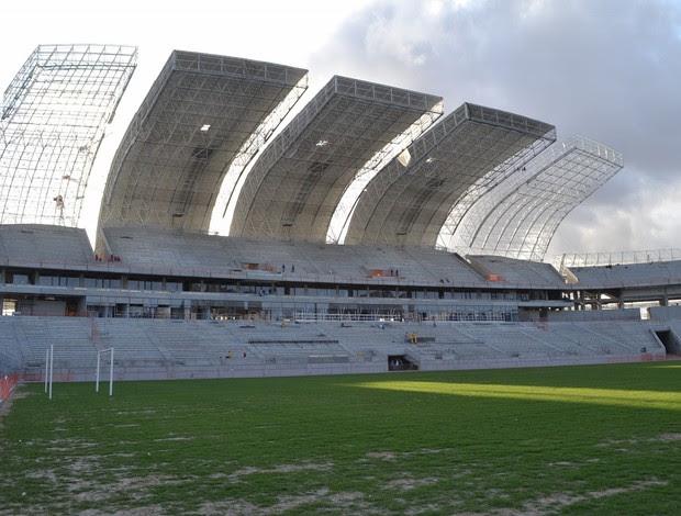 Arena das Dunas, em Natal - 25 de setembro (Foto: Jocaff Souza)