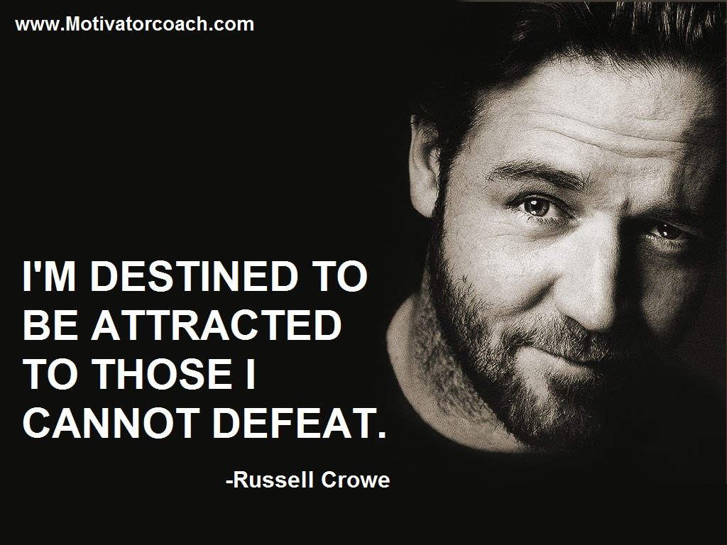 Quotes About Russell Crowe 47 Quotes
