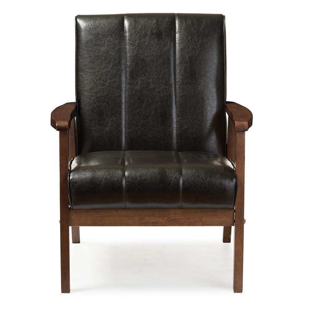 Baxton Studio Nikko Mid-century Modern Scandinavian Style ...