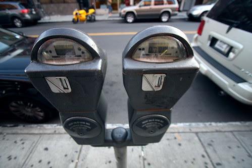 street parking meter