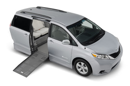 Image Toyota Sienna Wheelchair Accessible Conversion