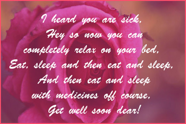 50 Get Well Soon Sister Text Messages And Quotes