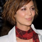 Short, Layered, Funky, Edgy Bob Haircut - Catherine Bell's Hairstyle