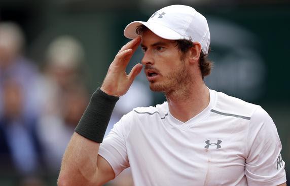 Andy Murray, sólo un set. A continuación fue arrollado por Novak Djokovic en a final de París