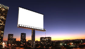 City Billboard Royalty Free Stock Images - Image: 13783789