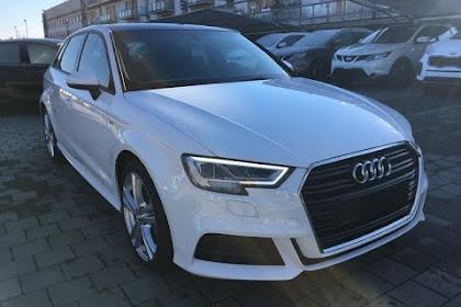 Audi A3 Sportback 2018 Bianca