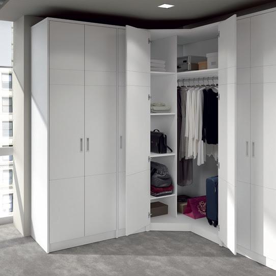 Dormitorio muebles modernos armarios rinconera - Armarios muy baratos ...