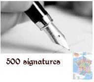 500 signatures