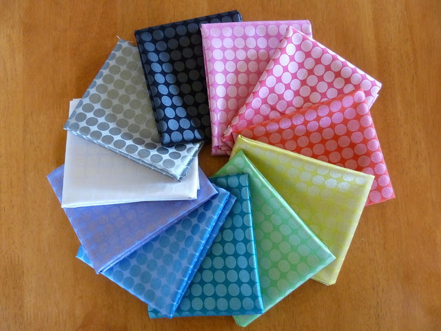 Rainbow Bundle for Friday's Fabric GIveaway!