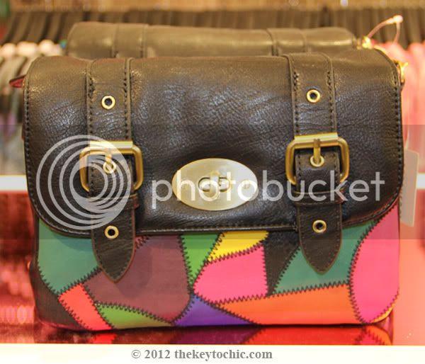 Forever 21 patchwork handbag