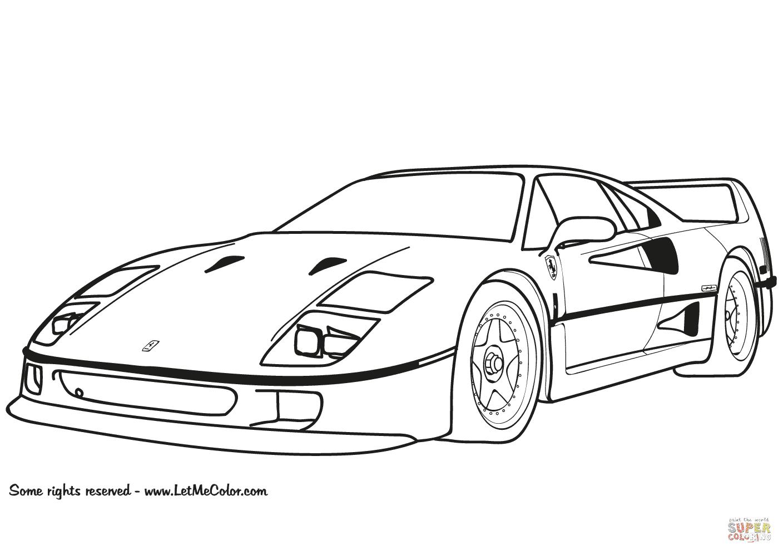Klick das Bild Ferrari F40