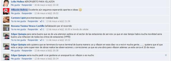 Participación en Villazón Bolivia - Facebook