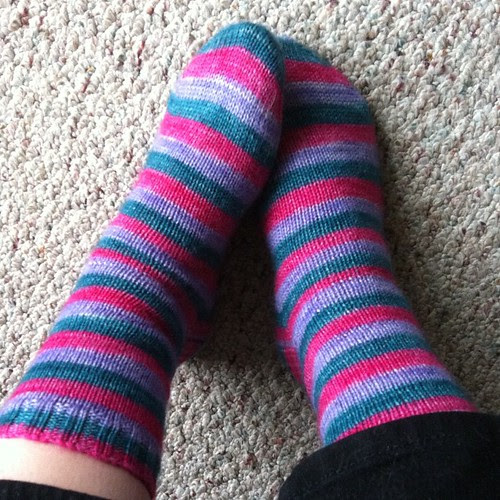 Day 2: plain socks in Vesper #norepeatdec