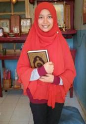 Alhamdulillah, Yang Mei Siu jadi Siti Fatimah dan mulai berjilbab...