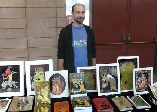 Theo Ellsworth at SF Zine Fest