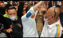 Video ; ADAMA Deklarasi Diri Menang di Pilwalkot Makassar
