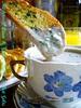 MUSHROOM SOUP & GARLIC BREAD