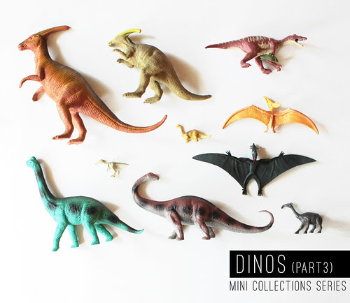 mini collections : dinos (part 3)