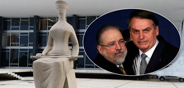 Ministros do STF reagem à nota de Aras e temem golpe de Bolsonaro
