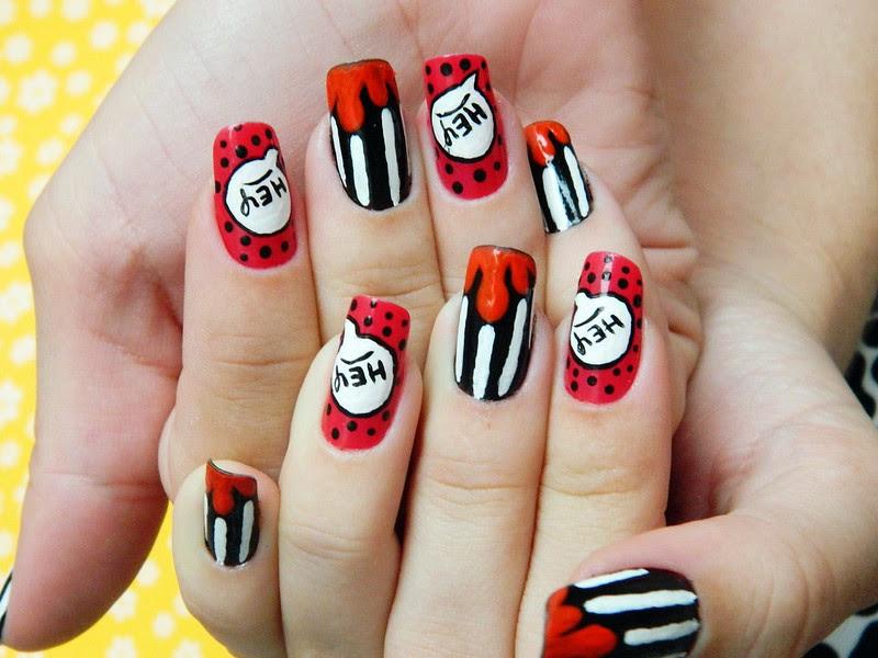 unhas decoradas juliana leite nail art mickey disney divertida 015