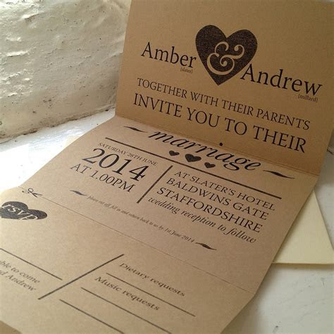 amber wedding stationery collection by the wild partridge