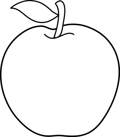 Apple Pictures To Draw