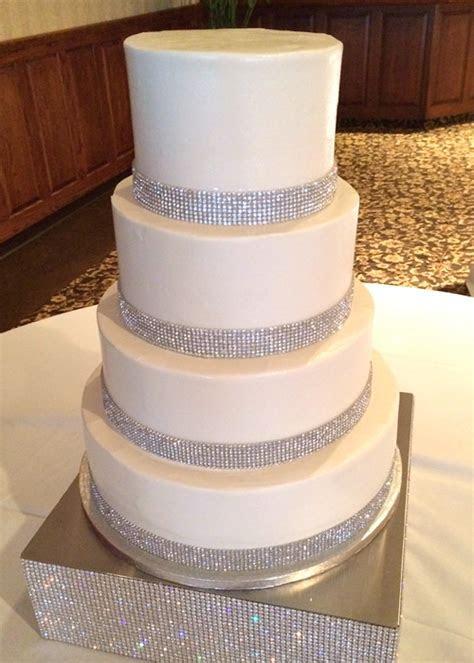 Crystal Wedding Cake ? Classy Girl Cupcakes