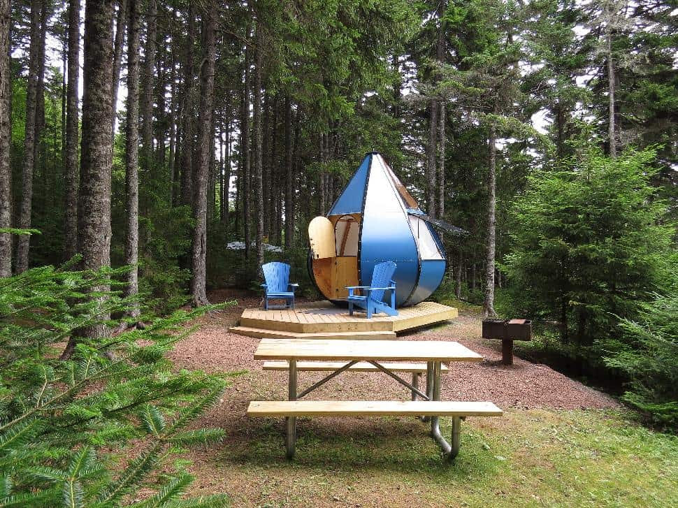 Image result for fundy park glamping