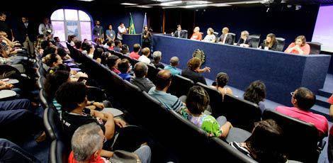 Audiência pública lotou auditório da Alepe na tarde desta quinta-feira / Foto: Fernando da Hora/JC Imagem