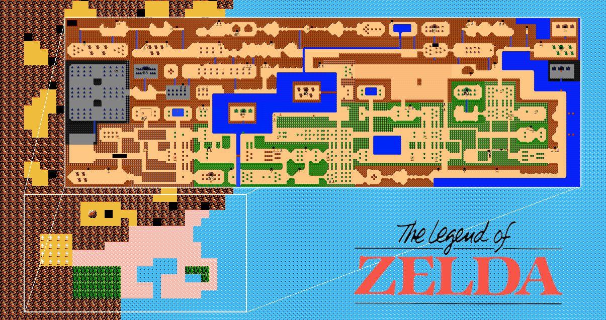 Zelda Nes World Map | Global Map