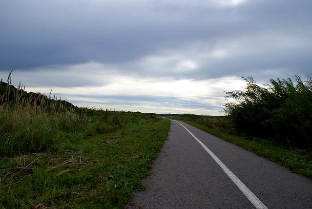 Kaunas - Jurbarkas with bike