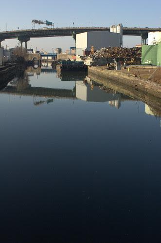 Gowanus Canal, South of Ninth Street Bridge