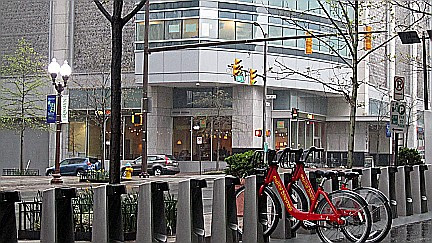 Capital Bicycle Sharing in Rosslyn